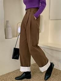 Clave pintuck wide pants_A (size : S,M)