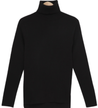 Heidi Slim Turtleneck Knitwear