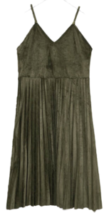 end suede pleats ops