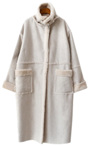 Sweeper mousse coat