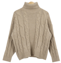 Word 꽈 Exhaust Turtle Knit