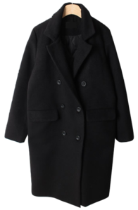Azlie quilted wool coat