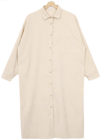 Knuts corduroy shirt dress