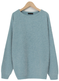 Lebain wool loose knit_A