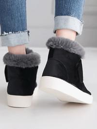 Dial Velcro Ankle Boots 3cm