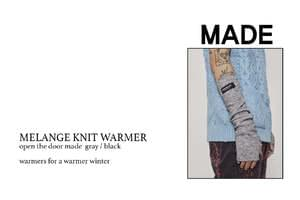 OTD - MELANGE KNIT WARMER