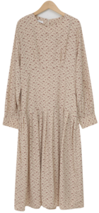 Artise floral long ops_U (size : free)