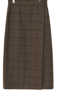 Ketley wool wrap skrit_C (울 10%) (size : free)
