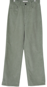 Named corduroy wide pants_C
