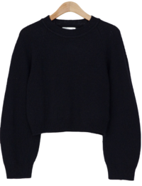 Nagrand Wool Crop Knit-knit 針織衫