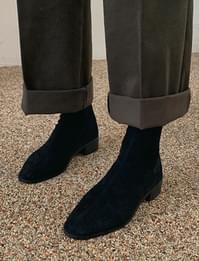 East suede ankle boots_J