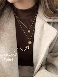 Head Layered Necklace _H