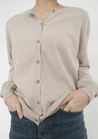 basic round cardigan (3colors)