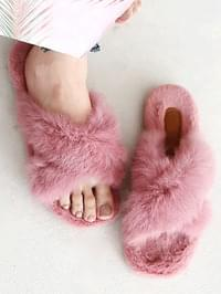 Lexon Real Fur Slippers 2cm