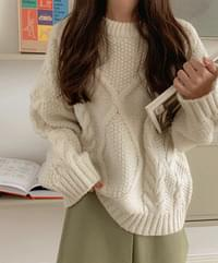 Pire cable knit