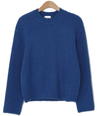 Daily simple wool knit