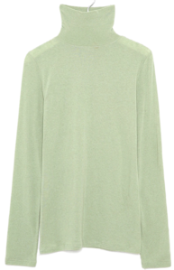 herb soft tencel turtleneck T 長袖上衣