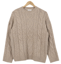 Or Cashew Wool Exhaust Knit 針織衫