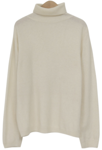 Muse turtleneck wool knit_Y (size : free)