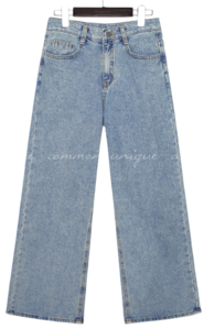 F/W CANMORE WIDE DENIM PANTS 牛仔褲