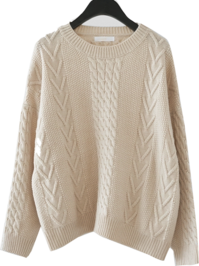 basic twist knit