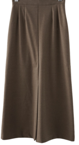 calm wool H-line skirt