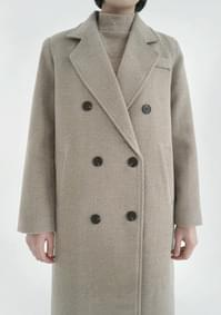simple double button coat (2colors)
