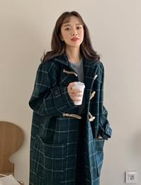 Duffle wool long coat_Y (size : free)