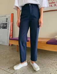 Warm straight cotton pants_H (size : S,M)