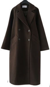 classic warm belt coat