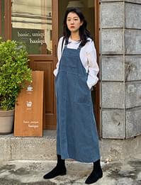 Lei corduroy overall ops_A