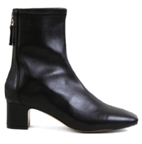 Middle line ankle boots