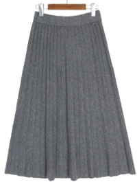 Knit Pleated Skirt 裙子