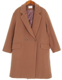 Simple line quilted coat