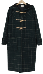 Duffle wool long coat_Y (size : free) 大衣外套
