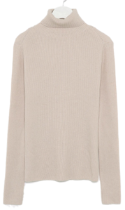 sensible wool turtleneck knit