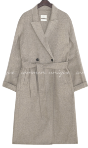 HAND MADE WOOL 70% COAT - 2 TYPE