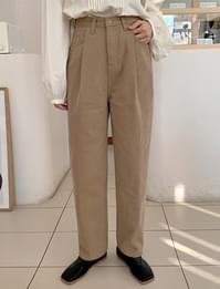 Pine warm pintuck pants_J (기모) (size : S,M)