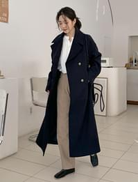 Flame wool double coat_J (size : free)