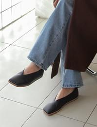 Flat square toe shoes_Y