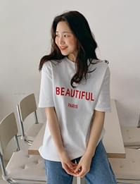 Beautiful lettering cotton T_H