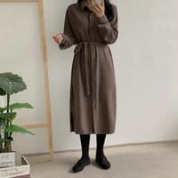 Platizan corduroy dress