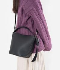 Strap Bucket Shoulder Bag