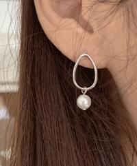 Edin silver earrings
