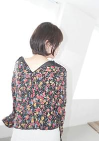 2-way vintage pattern top (3colors)