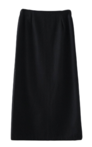 classic mood wool skirt
