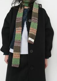 kitsch knit scarf 2 (2colors)