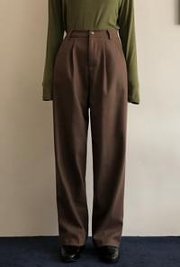 Dotpy Tuck Wide Pants