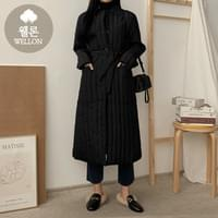 Withden padded long coat