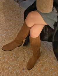 Round shape long boots_U (size : 230,235,240,245,250)